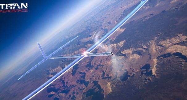 Спутник на солнечной энергии solara 50