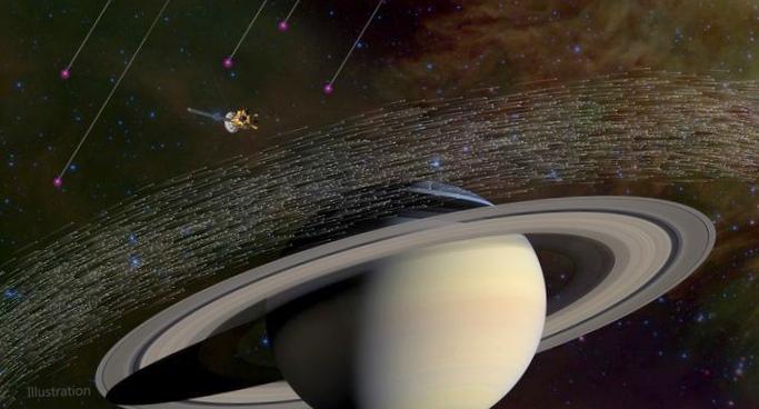 Станция cassini обнаружила межзвездные частицы