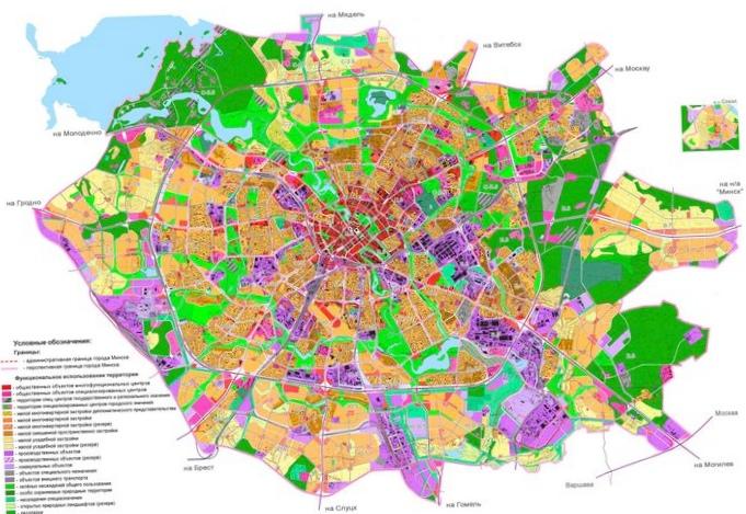 Сущность взаимосвязи планировочной и функциональной структур города. виды функциональных зон города.