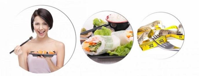 Суши вредят женской красоте