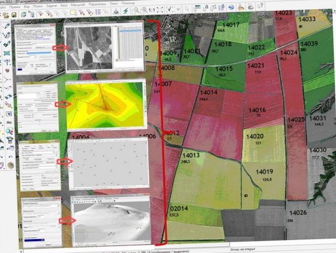 Технологии гис в управлении земледелием