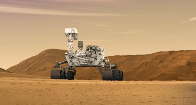 У марсохода curiosity проблемы с буром