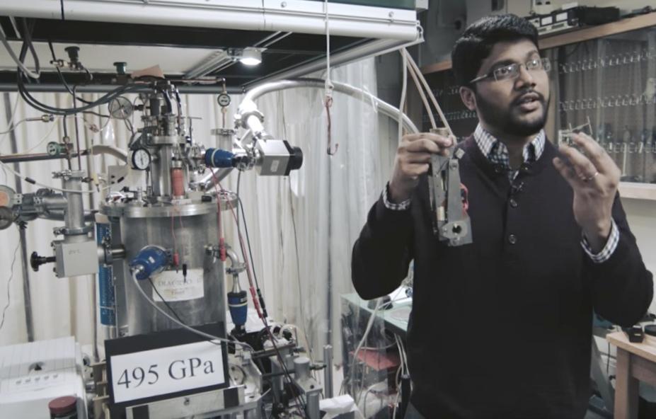 Ученые из гарварда создали первый металлический водород