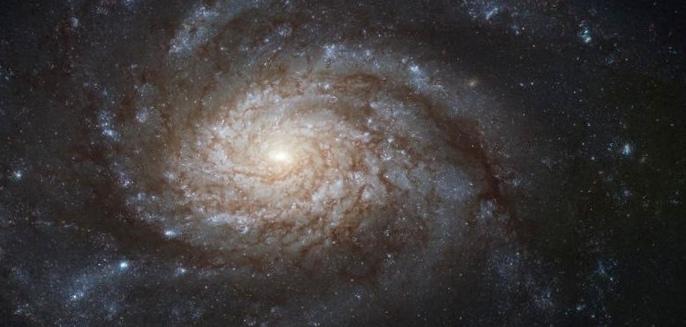 В созвездии пегаса нашли древнейшую спиральную галактику
