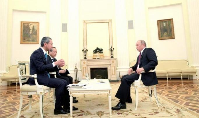Владимир путин: у нас вообще нет никаких территориальных проблем