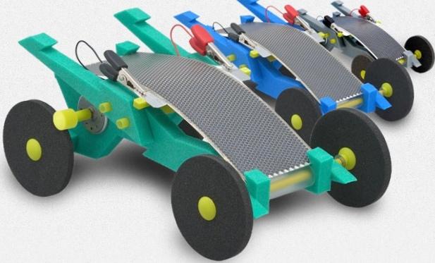 Volta racer – игрушечный электромобиль на солнечной энергии