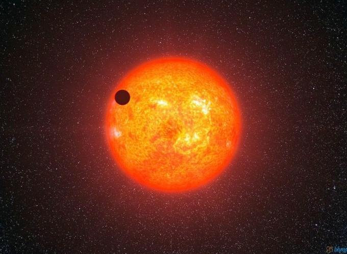 Впервые небесное тело с водяными облаками найдено вне солнечной системы