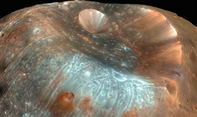 Заход фобоса на марсе