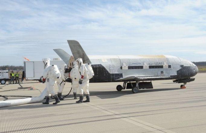 Завершился четвертый полет орбитального бла x-37b ввс сша