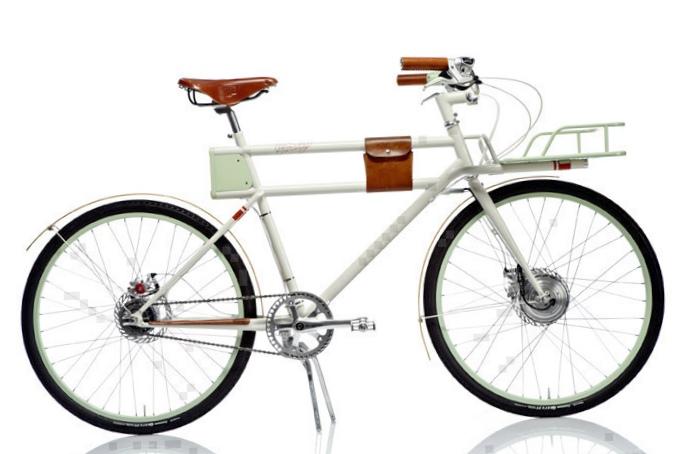Знакомьтесь, ретро-велосипед на литиевой батарее - faraday porteur!