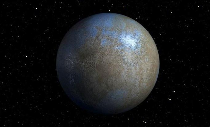 Зонд dawn снял туман на карликовой планете церера